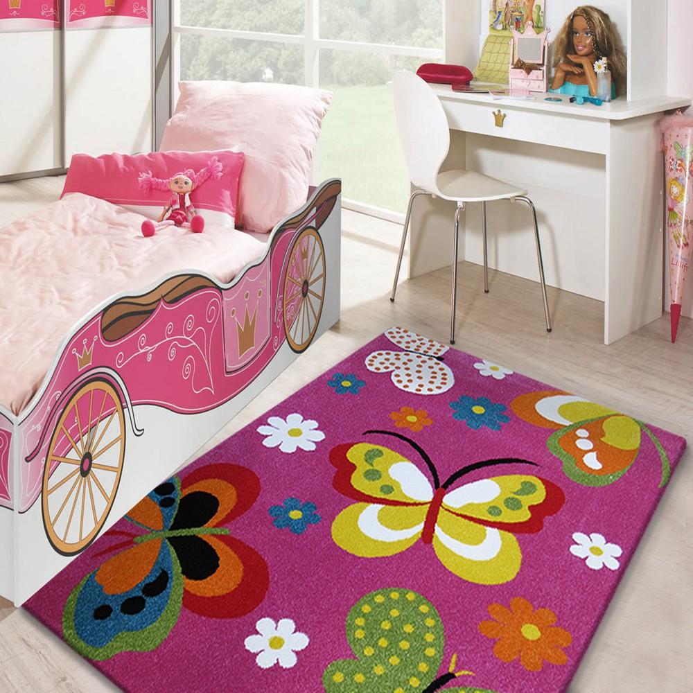 Dywan Dla Dziewczynki W Różowym Kolorze 160x220