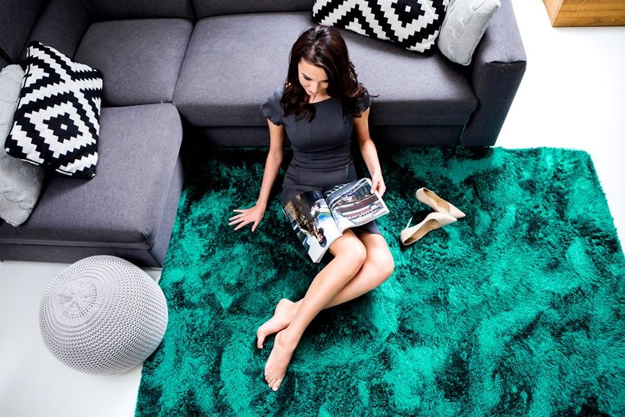 Cudowna Pluszowe dywany | Młodzieżowy dywan morski 120x170 pluszowy do UO58