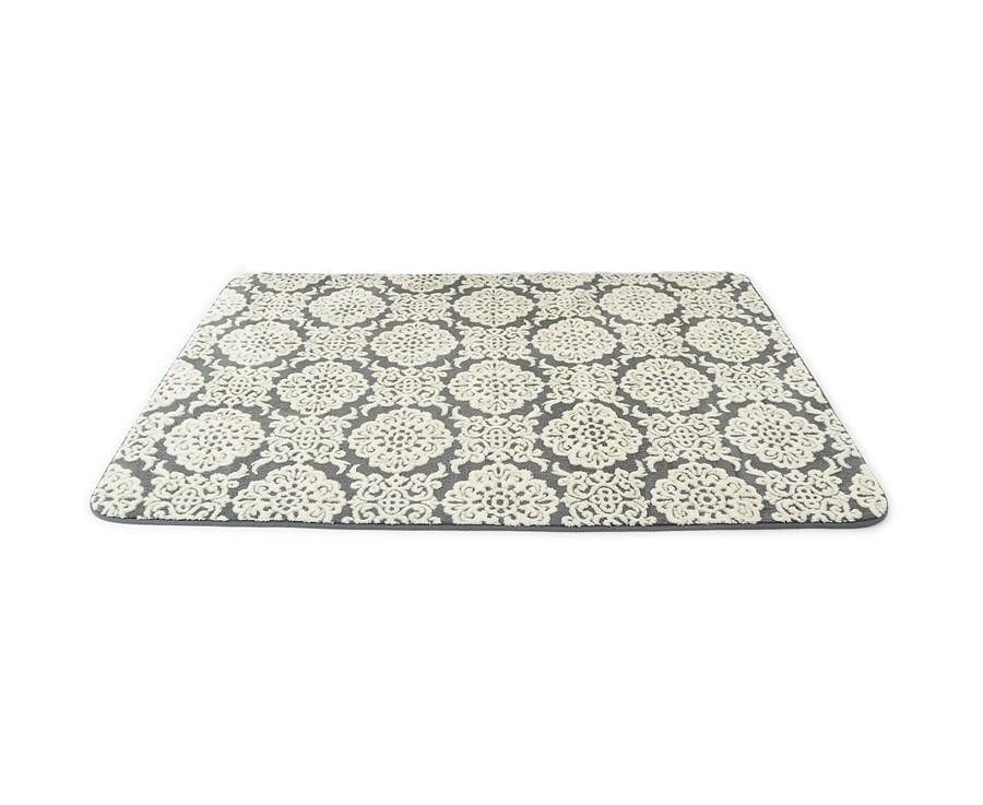 13a24ae08f08 3D pluszowe norweskie ozdobne dywany w dekoracyjne ecru wzory empty