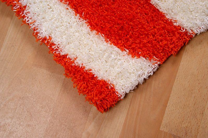 180x270 Klasyczne Miękkie Włochate Dywany W Kolorze Pomarańczowym Do Pokoju